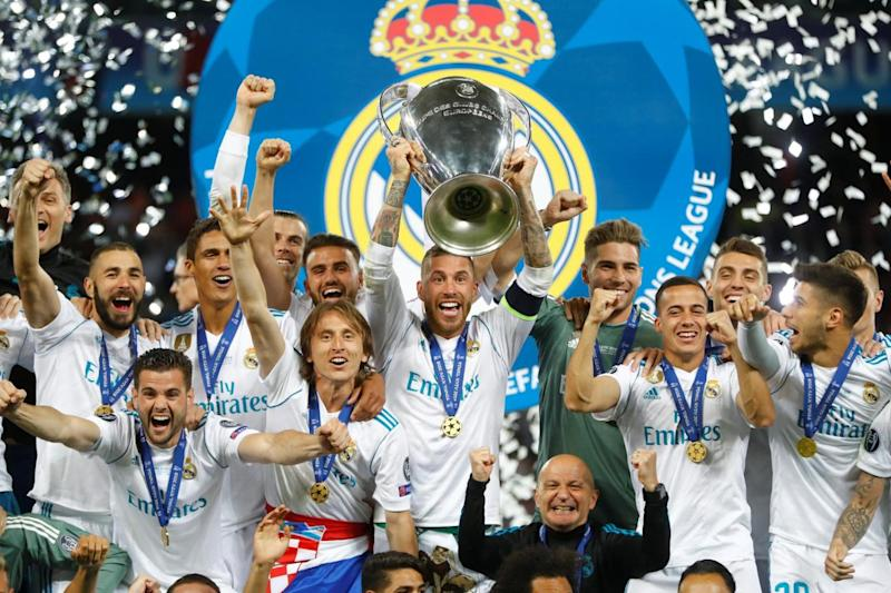 Winners: Real Madrid (REUTERS)