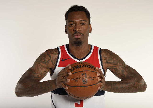 Sheldon Mac played 30 games for the Wizards last season. (AP Photo/Nick Wass)
