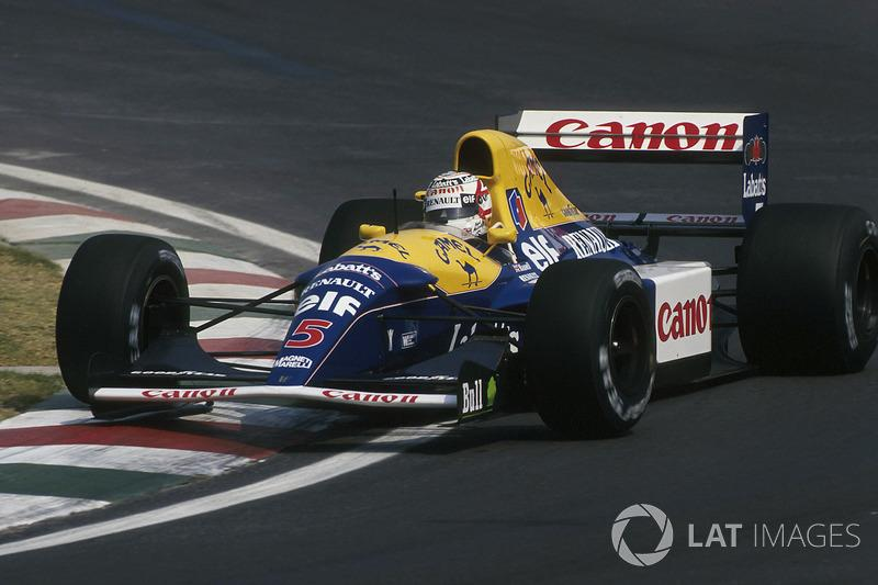 "1992: Williams-Renault FW14B<span class=""copyright"">Sutton Motorsport Images</span>"
