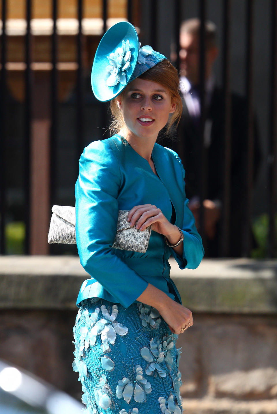 <p>Princess Beatrice of York at the Royal wedding of Zara Phillips and Mike Tindall. It was the second royal wedding that year, (Mike Marsland/WireImage)</p>