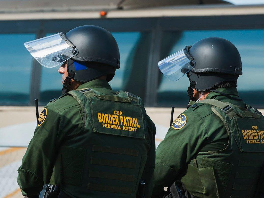 US Customs and Border Protection Agents