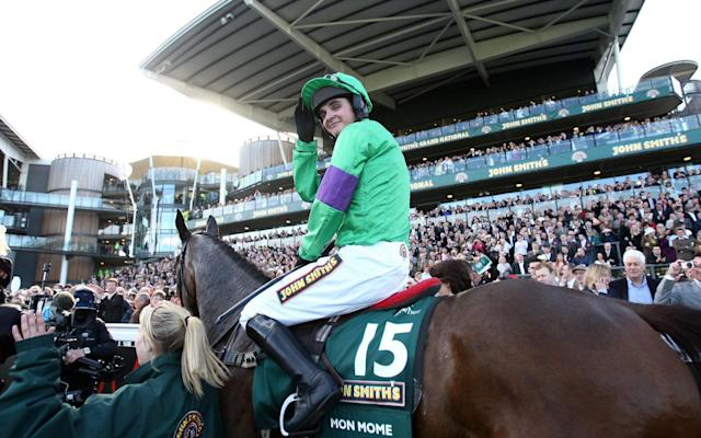 Grand National-winning jockey Liam Treadwell - PA
