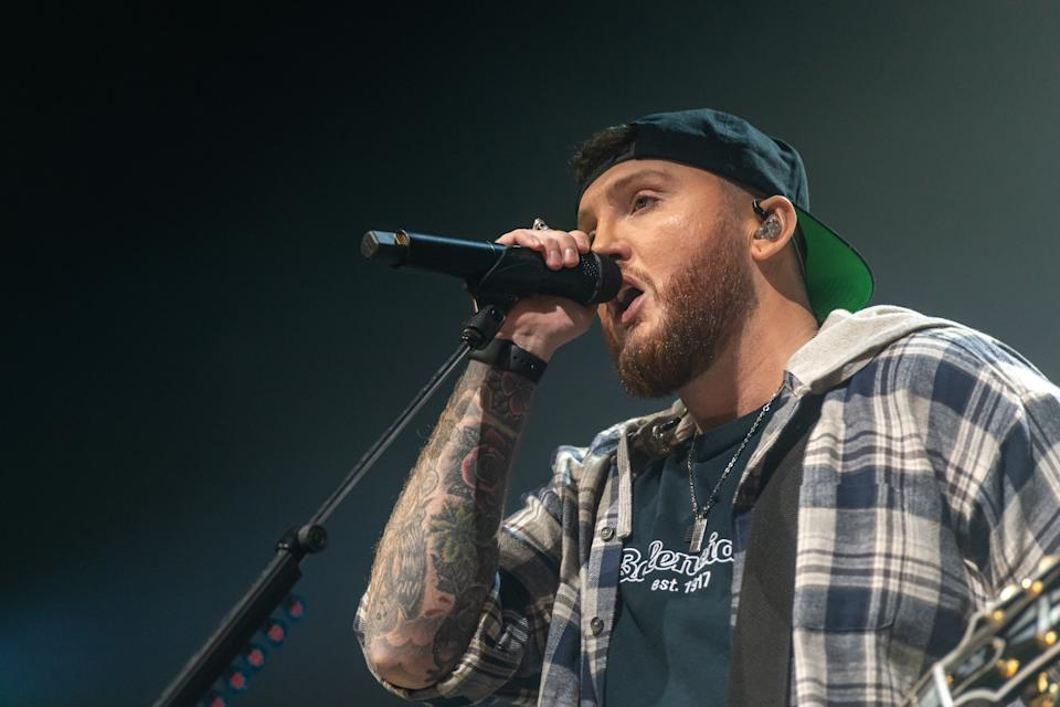 James Arthur performs live on stage during the Irish leg of his YOU Tour at the 3Arena, Dublin. (Ben Ryan / Echoes Wire/Barcroft Media via Getty Images)