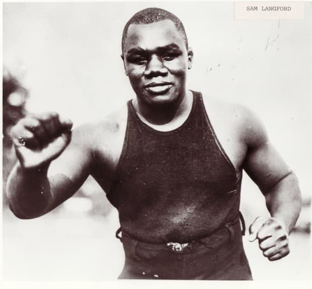 Sam Langford is considered one of the greatest boxers of all time.
