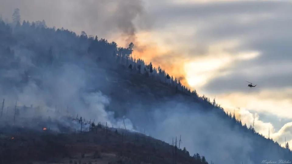 Number of wildfires in B.C. drops to 224 as rain, cooler weather provide relief