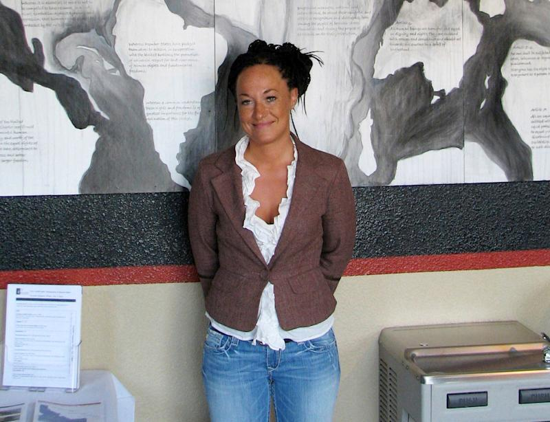 This July 24, 2009, file photo shows Rachel Dolezal, who made headlines for saying she was Black, even though she had been born white. (Photo: Nicholas K. Geranios/AP)
