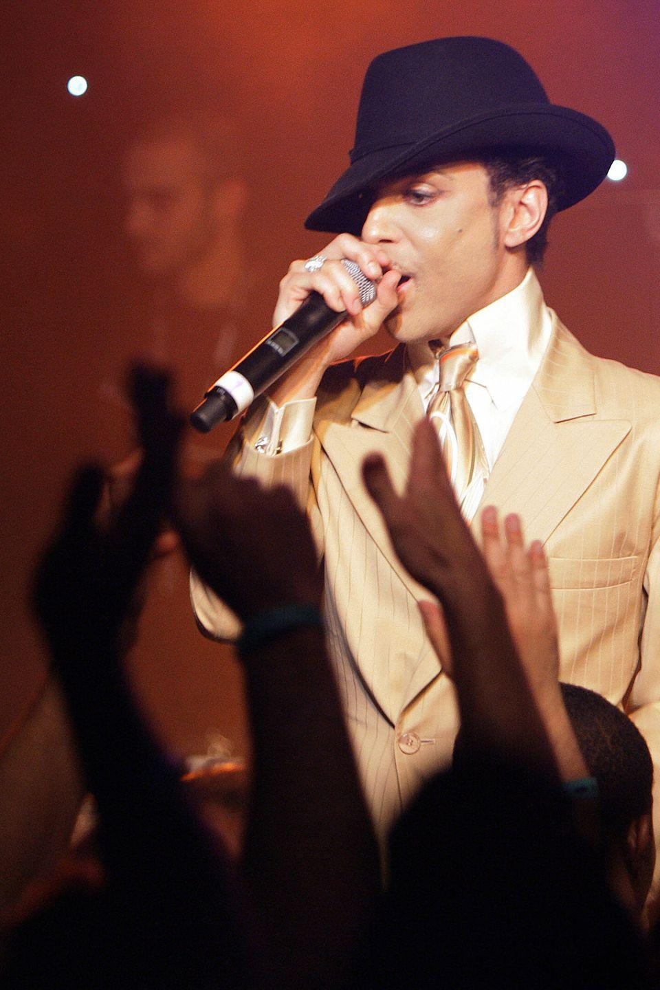 <p>During a jam session after his sold out concert at the 41th edition of the Montreux Jazz Festival in Switzerland</p>