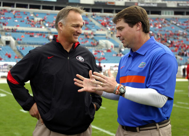Muschamp only knows losing side of Florida-Georgia