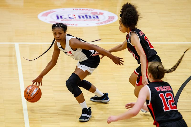 RC Experiences is the exclusive operating partner of the Jr. NBA, the premier resource for youth basketball players, parents, coaches and league administrators looking to learn more about the game. Credit: Guy Rhodes