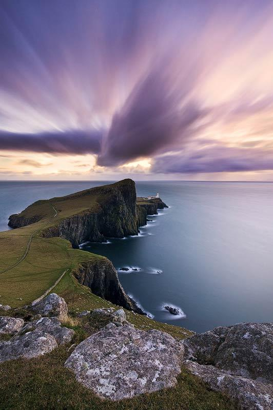 Emmanuel Coupe, Neist Point at dusk, Isle of Skye, Scotland. Commended in the Classic View category.