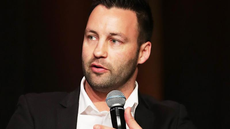 GWS Giants football director Jimmy Bartel is pictured at a media opportunity.