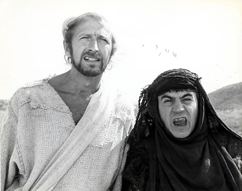 Terry famously played Brian's mother, Mandy, in Life Of Brian (Photo: Daily Mail/Shutterstock)