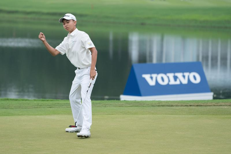 China Open: 14-year-old amateur Kuang Yang makes cut in Shenzhen