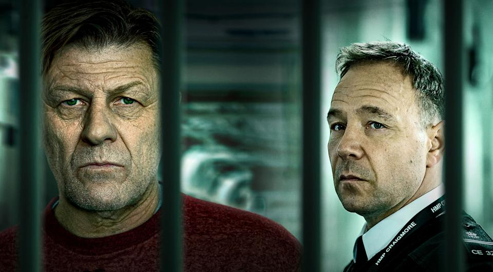 Sean Bean and Stephen Graham in Time (BBC)
