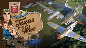 """More than forty World War II-era aircraft – including bombers, fighters, and support airplanes – are expected to participate in the 2021 CAF Wings Over Dallas WWII Airshow on October 29-31 at Dallas Executive Airport. This year's theme """"Texas Goes to War"""" will highlight the Lone Star State's significant contributions to support America's victory."""