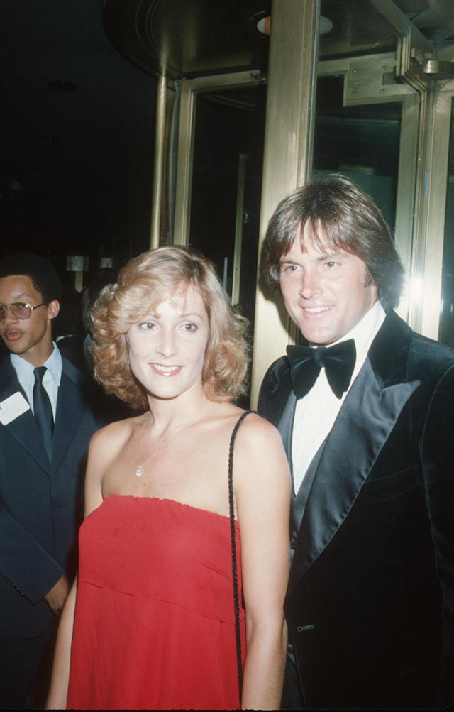 Chrystie Scott and Bruce Jenner (Photo by Ron Galella/Ron Galella Collection via Getty Images)