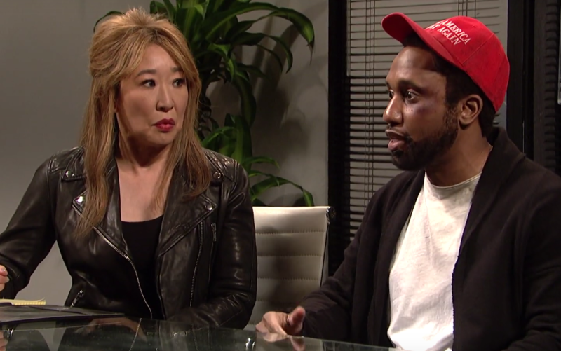 'Saturday Night Live' spoofs Smollett case in brutal sketch ile ilgili görsel sonucu