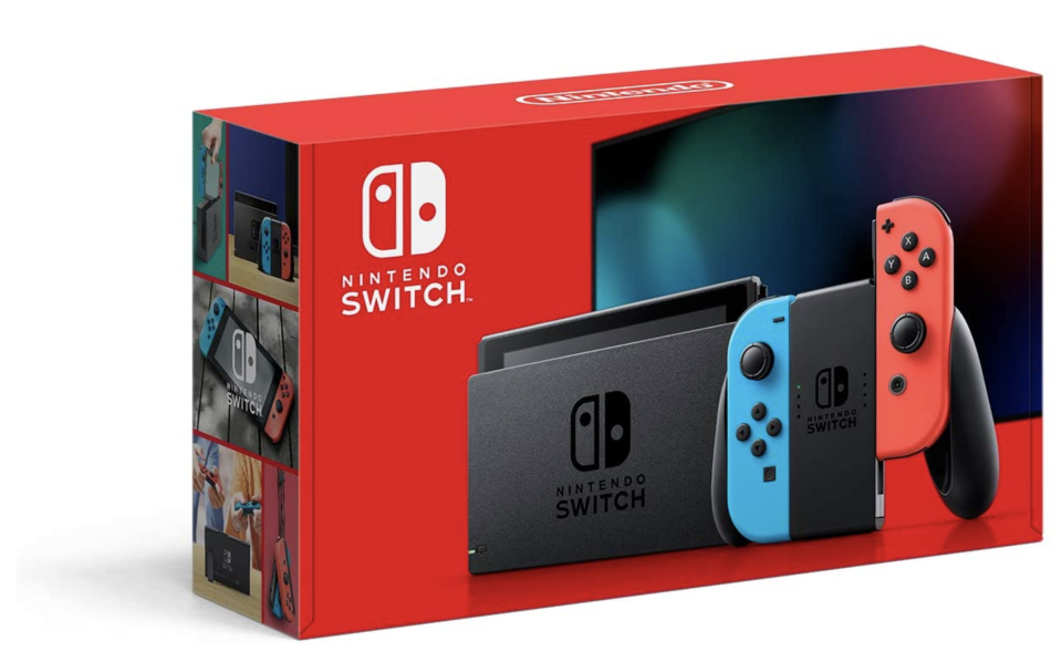Nintendo Consola Switch Neon 32GB Version 1.1 - Standard Edition. Foto: amazon.com.mx