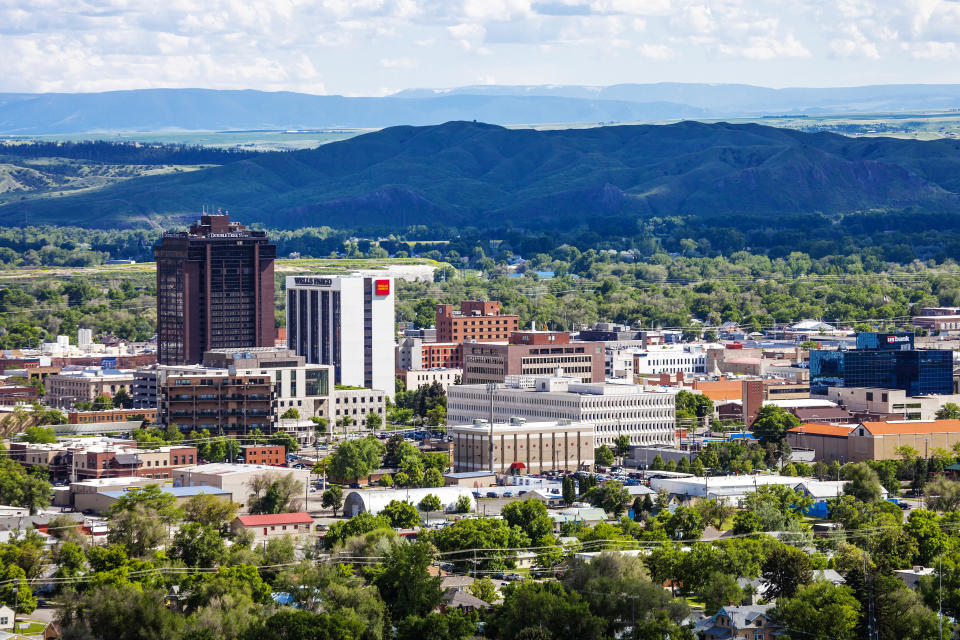 City view. Billings, Montana, USA.