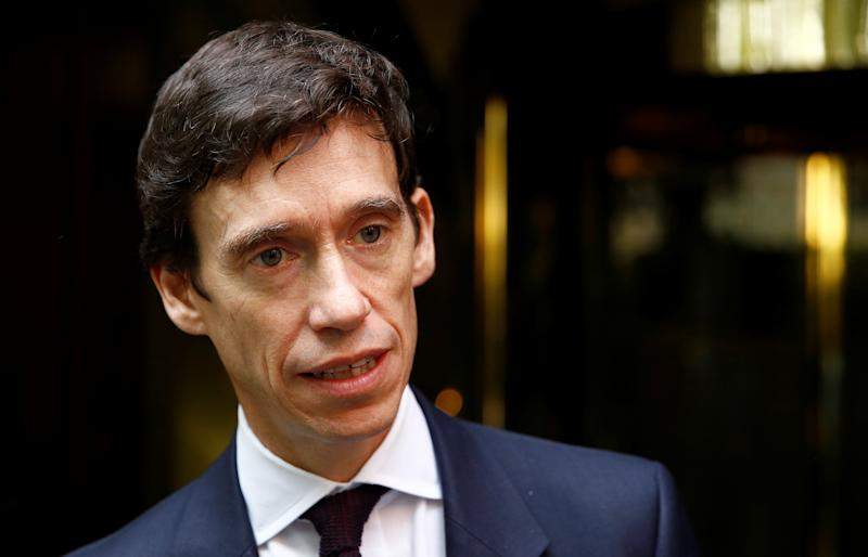 Conservative MP Rory Stewart talks to media in Westminster, in London, Britain September 24, 2019. REUTERS/Henry Nicholls