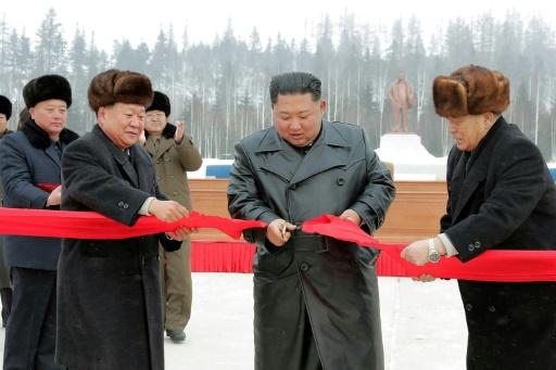 Kim Jong Un is closely associated with the Samjiyon scheme and has visited the area several times
