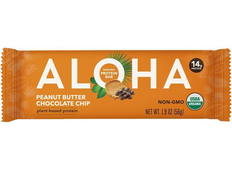 Aloha Organic Protein Bar Peanut Butter Chocolate Chip