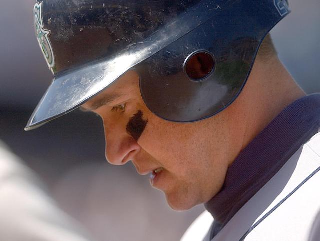 Bret Boone decided to mock sexual assault victims for some reason. (AP Photo)