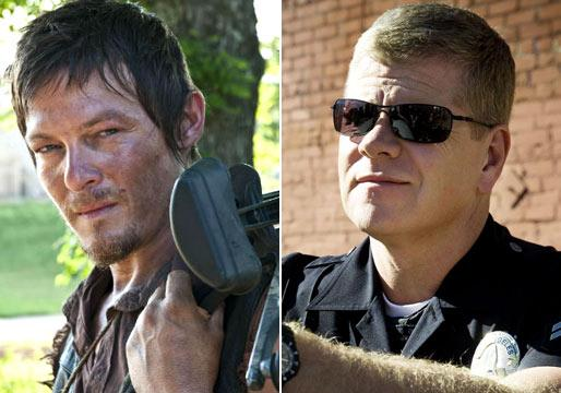 Performers of the Week: Walking Dead's Norman Reedus and Southland's Michael Cudlitz