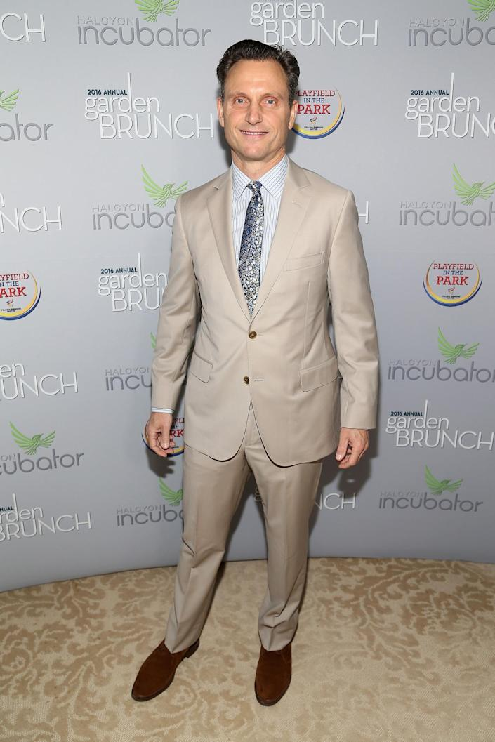 <p>Actor Tony Goldwyn attends the Garden Brunch prior to the 102nd White House Correspondents' Dinner, April 30. <i>(Photo: Paul Morigi/WireImage)</i></p>