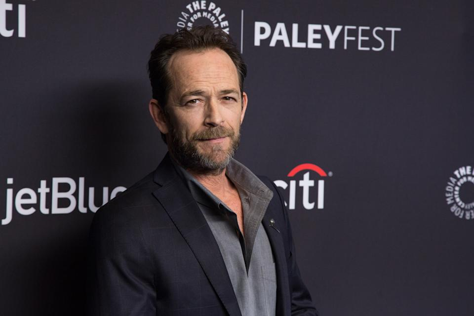 Luke Perry's friends and co-stars are remembering the beloved actor on Sunday in honor of his birthday. Perry passed away in 2019 of a massive stroke at age 52. (Photo: Gabriel Olsen/FilmMagic)
