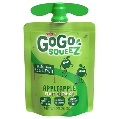 GoGo squeeZ® AppleApple Pouch 3.2oz