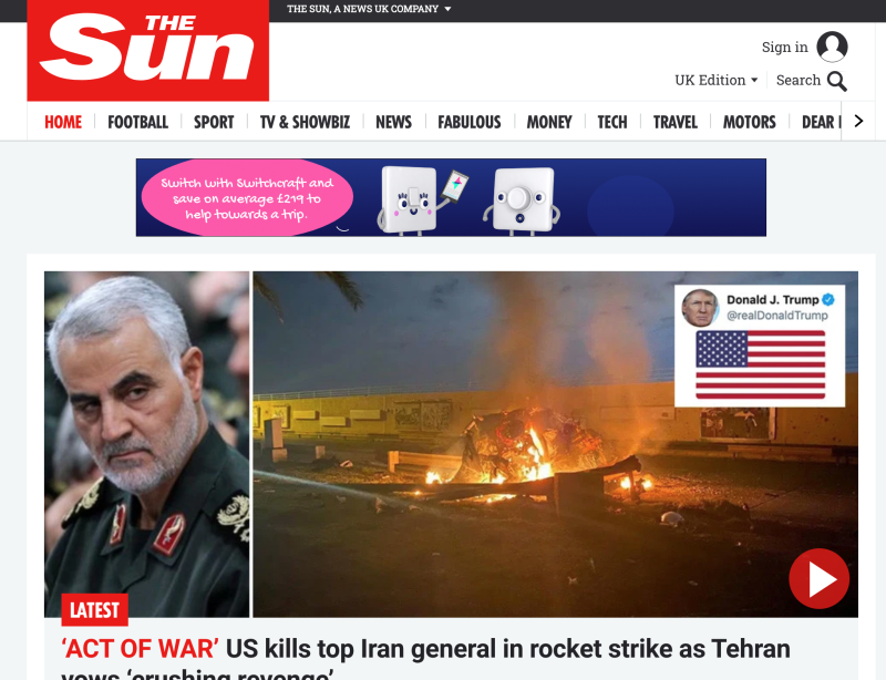 Iran general headlines