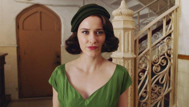 Amazon admires Marvelous Mrs Maisel