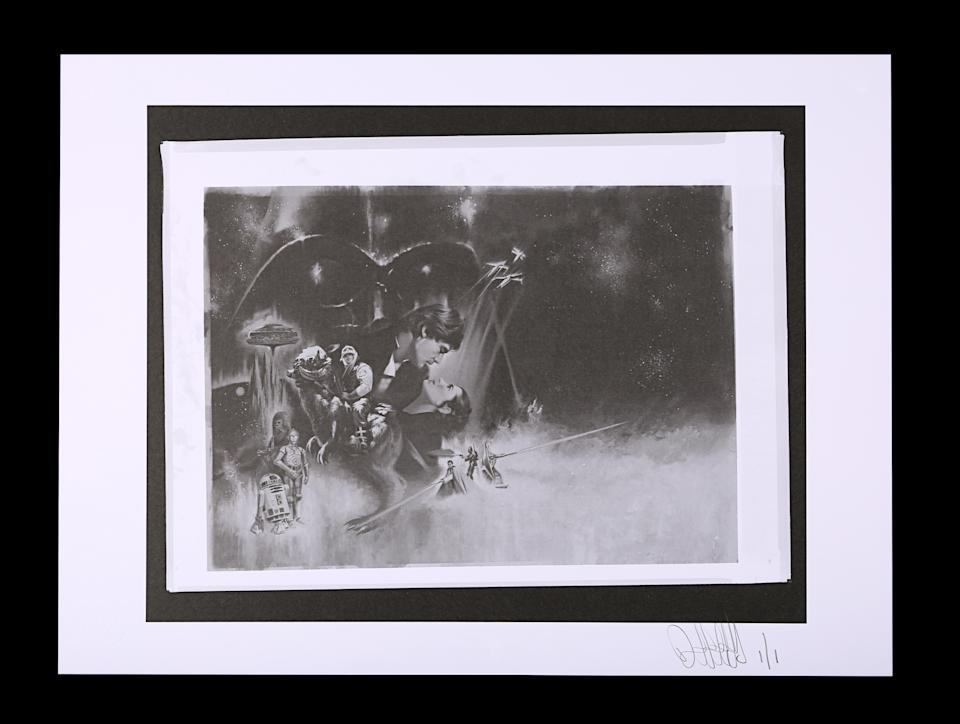 <p>STAR WARS: THE EMPIRE STRIKES BACK (1980) - FEREF ARCHIVE: Original Transparencies with 1 of 1 Proof Print est. £500 - £700 (Prop Store)</p>