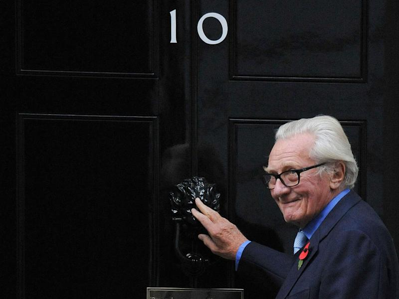 Lord Heseltine said leaving the EU with no deal is a 'folly' (PA)