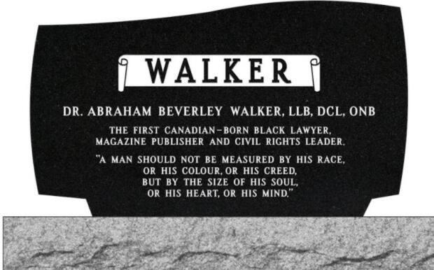 The monument will include a quote from Walker on its reverse side, one that is similar to Martin Luther King Jr.'s 'content of his character' quote, made more than 50 years after Walker's death. Both men preached non-violent opposition to racism.