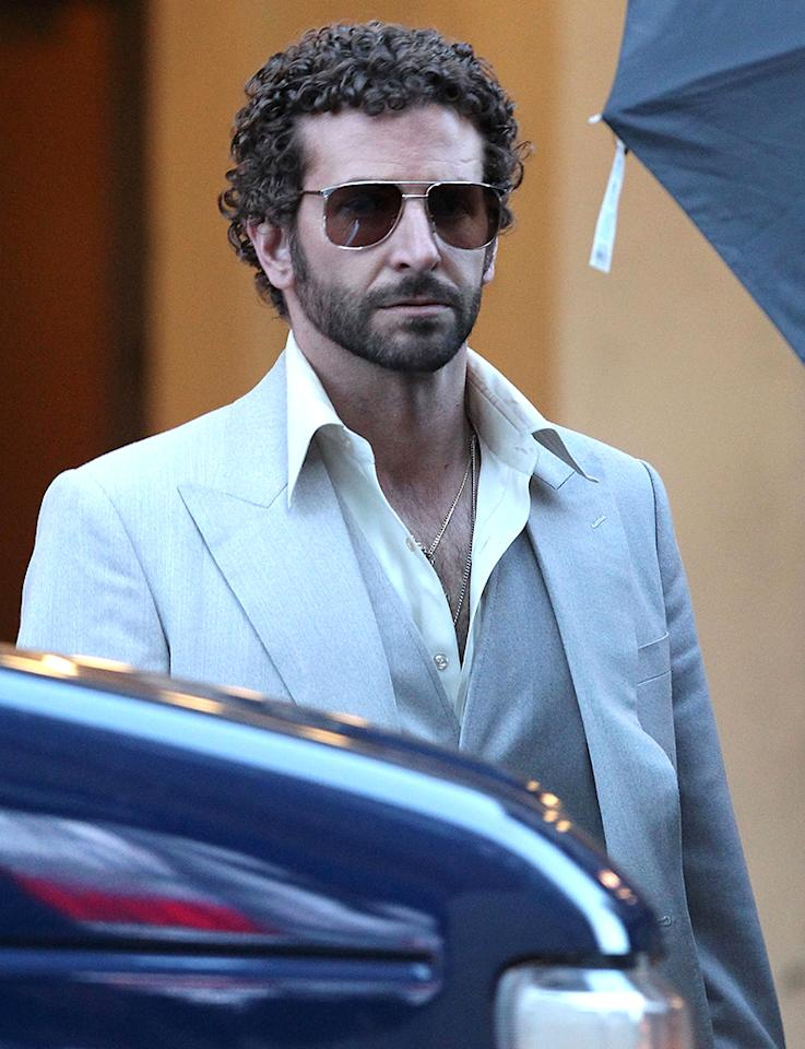 51058364 Actor Bradley Cooper on the set of  the Untitled David O. Russell project in Boston, Massachusetts on April 3, 2013 FameFlynet, Inc - Beverly Hills, CA, USA -  1 (818) 307-4813
