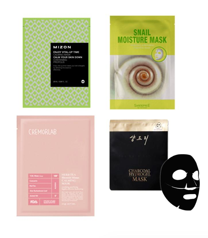 "<p>Sheet masks are a popular K-beauty ritual, and many come in bundles to maximize your dollar. While regular face masks are handy, these contoured masks really hold tight to your face, giving you an all-encompassing moisture-rich zest. Choose from bundles focused on anti-aging to brightening to hyrdation remedies, or try <a href=""https://www.peachandlily.com/products/sheet-mask-bundle-power-combo-pack"">this power combo pack</a> to get a bit of everything. The length of time varies, but expect to have the mask on for at least 20 minutes in order to get best results. </p>"