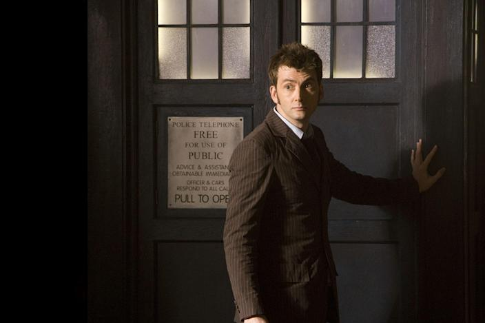 David Tennant as the Doctor (Credit: BBC)