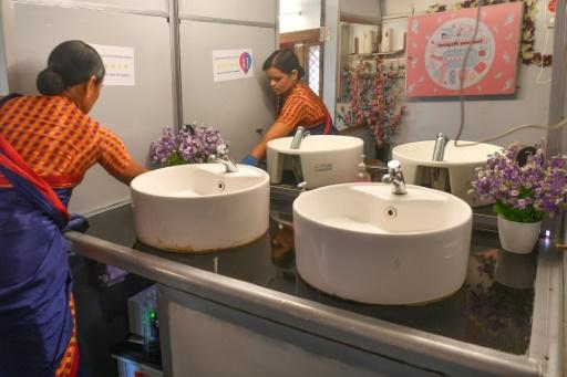Finding a clean and safe toilet in parts of India is a challenge