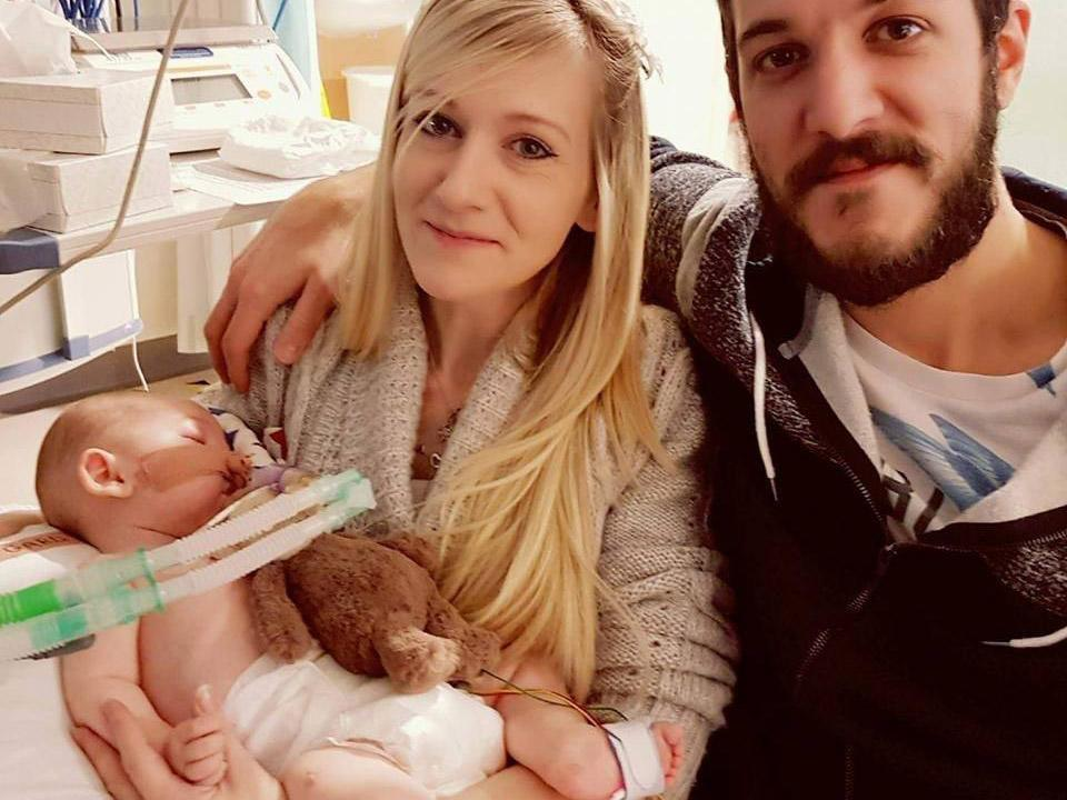 Connie Yates and Chris Gard want baby Charlie to receive experimental treatment in the US: Facebook