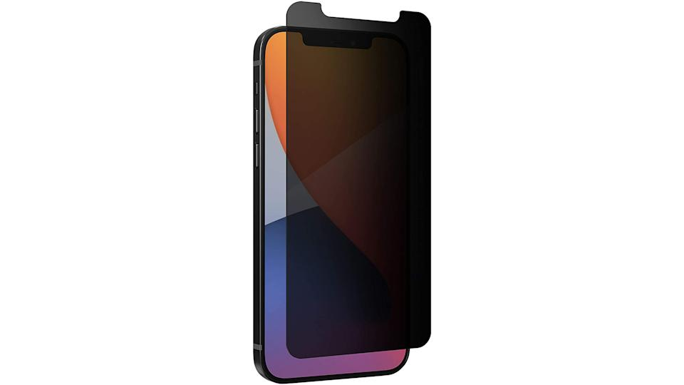 Zagg Invisible Shield privacy protector for iPhone