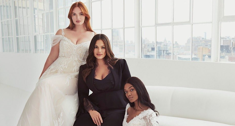 Ashley Graham launches an inclusive wedding dress collection with Pronovias