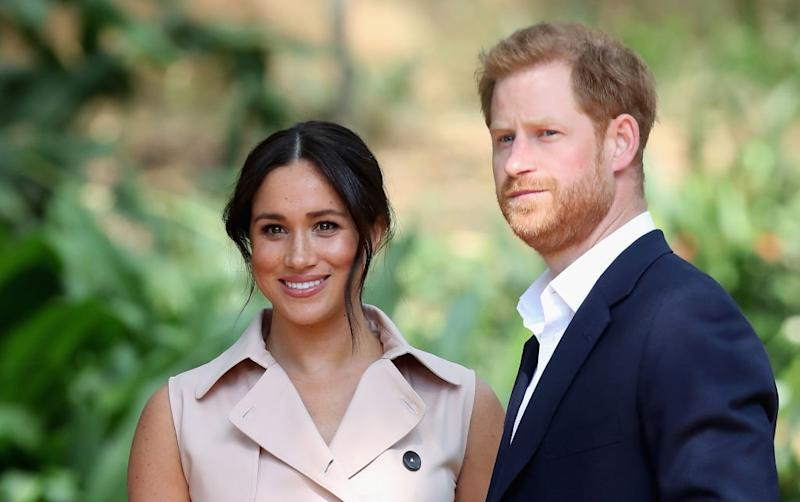 Apparently This Is What the Dulcet Tones of Prince Harry and Meghan Markle's Doorbell Sound Like