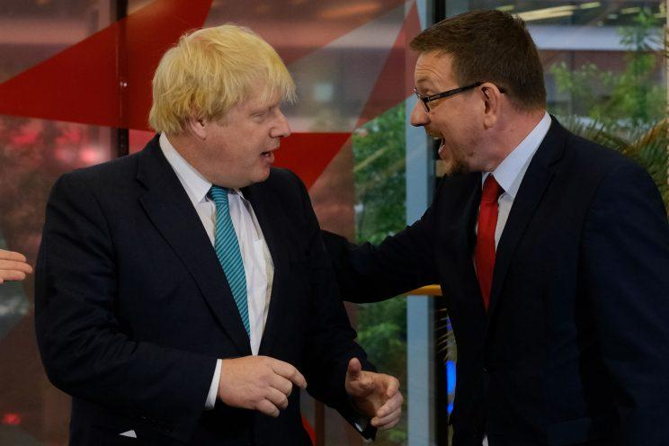 General Election: Boris Johnson pushes Labour MP Andrew Gwynne