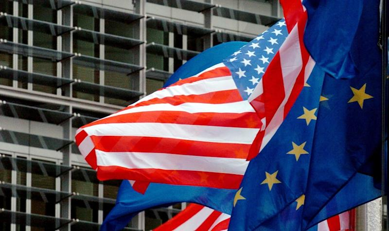 The EU's 28 member states had struggled for months to agree on a mandate to open trans-Atlantic talks, with some fearing the delay would restart a trade war with President Donald Trump (AFP Photo/STR)