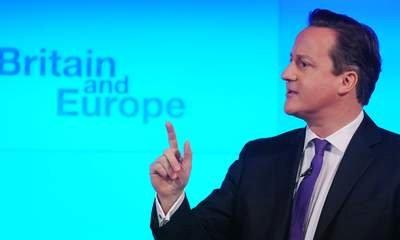 David Cameron Promises 'In-Out' EU Referendum