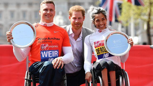 She got to hang with Prince Harry afterwards. Image: Getty