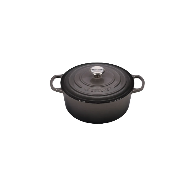 """<p><strong>Le Creuset </strong></p><p>nordstrom.com</p><p><a href=""""https://go.redirectingat.com?id=74968X1596630&url=https%3A%2F%2Fwww.nordstrom.com%2Fs%2Fle-creuset-signature-5-1-2-quart-round-enamel-cast-iron-french-dutch-oven%2F5583372&sref=https%3A%2F%2Fwww.elle.com%2Ffashion%2Fshopping%2Fg35121957%2Fnordstrom-home-sale-january-2021%2F"""" rel=""""nofollow noopener"""" target=""""_blank"""" data-ylk=""""slk:SHOP IT"""" class=""""link rapid-noclick-resp"""">SHOP IT </a></p><p><strong><del>$437.50</del> $360 (17% off)</strong></p><p>Want to flex your culinary muscle? Nordstrom is also taking $70 off Le Creuset's beloved Dutch oven.</p>"""
