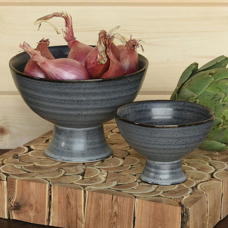 """<p>These ceramic bowls from Jungalow are microwave and dishwasher safe—and every time you purchase a product from the company, two trees will be planted through their partnership with <a href=""""https://trees.org/"""" rel=""""nofollow noopener"""" target=""""_blank"""" data-ylk=""""slk:Trees for the Future."""" class=""""link rapid-noclick-resp"""">Trees for the Future.</a></p> <p><strong><em>Shop Now: </em></strong><em>Jungalow Matte Footed Bowl Set, $69, </em><a href=""""https://www.jungalow.com/collections/new-1/products/matte-footed-bowl-set"""" rel=""""nofollow noopener"""" target=""""_blank"""" data-ylk=""""slk:jungalow.com"""" class=""""link rapid-noclick-resp""""><em>jungalow.com</em></a><em>.</em></p>"""